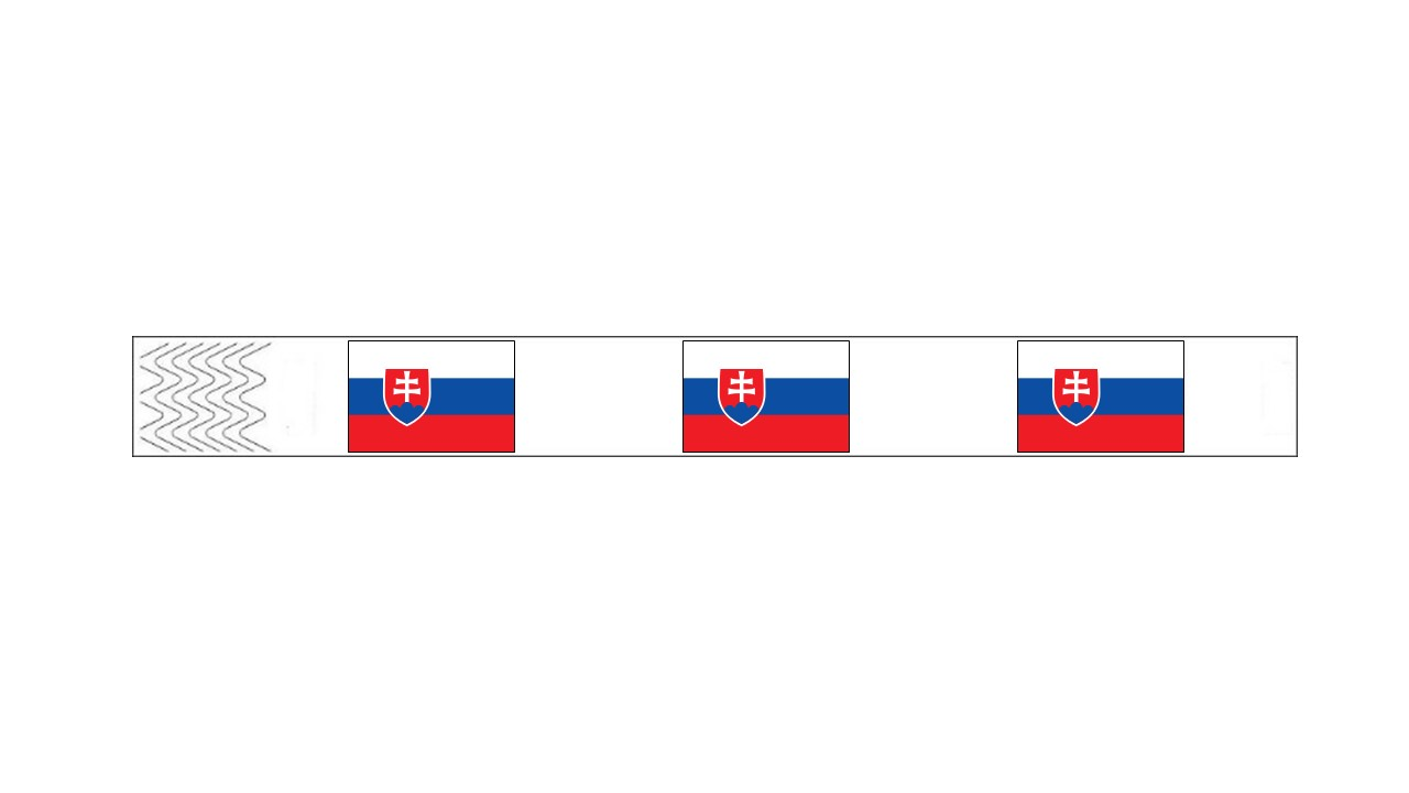 Werbeartikel: Kontroll-armbänder Slowakei,