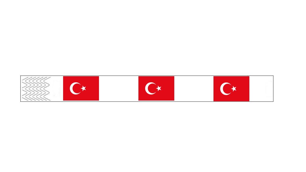Werbeartikel: Kontroll-armbänder Türkei,